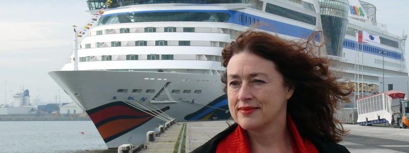 Monika Griefahn, director for environment and society at AIDA cruises