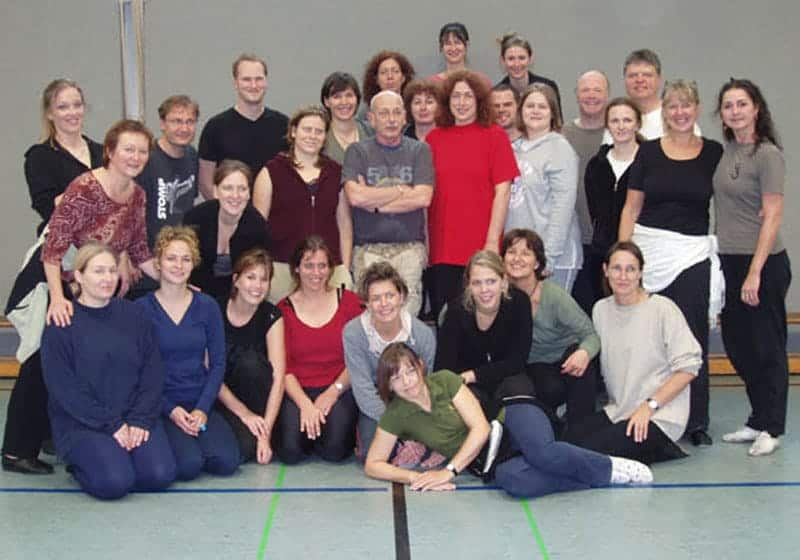 2006: Group photograph after a Rhythm to Dance Workshop with Royston Maldoon.
