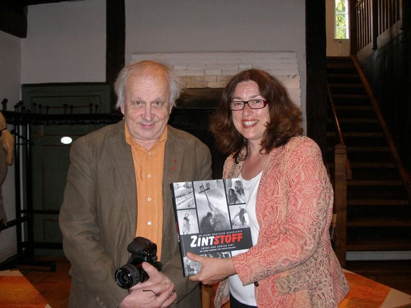2008: Monika Griefahn and the photographer Günter Zint are long-time friends.