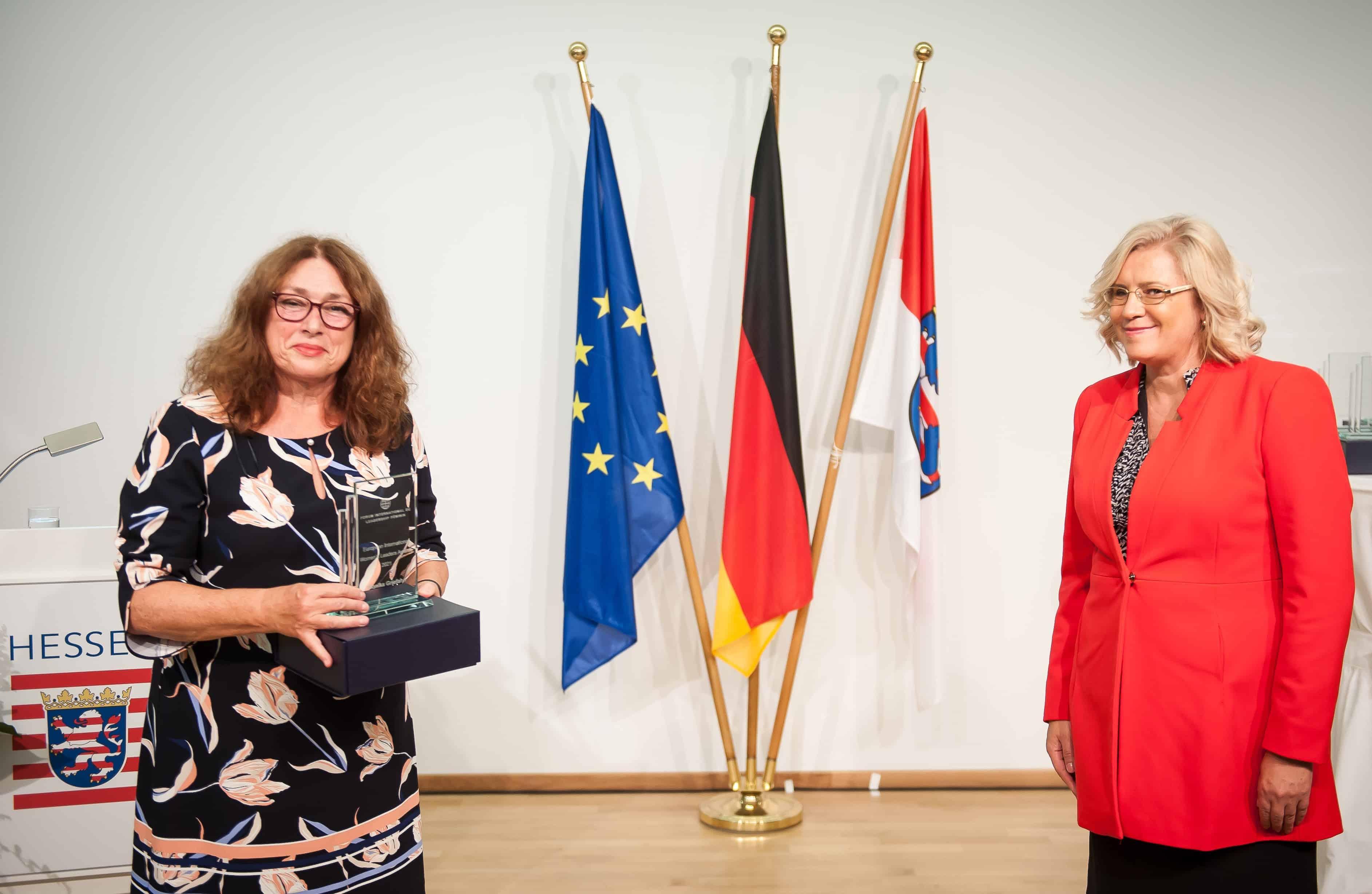 Auszeichnung für Monika Griefahn